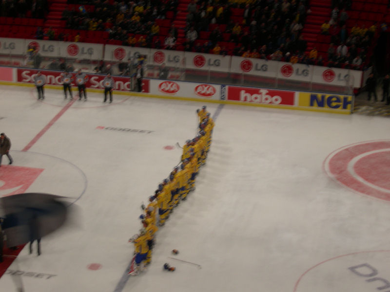 Då var Sverige mästare!!